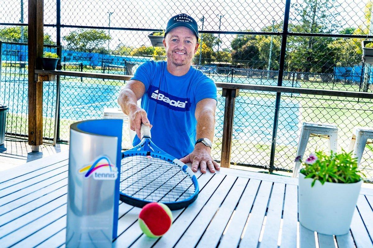 Andrew Bates - Byron Bay Tennis Coach